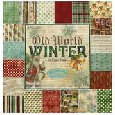 "Old World Winter Paper Pack - 12"" x 12"""